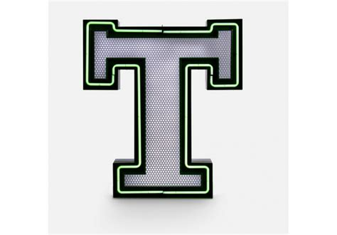Graphic Collection ‐ Letter T Lamp Delightfull