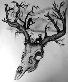 Hunting Tattoo Ideas Drawings
