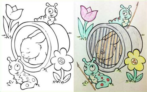 corrupted coloring books  dark   hurry