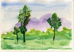 Easy Watercolor Paintings | Easy Watercolor Paintings Of ...