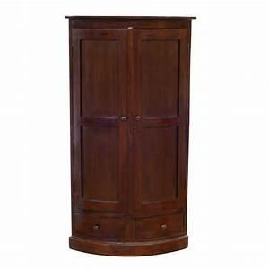 Meuble D Angle Chambre : armoire chambre style colonial ~ Teatrodelosmanantiales.com Idées de Décoration