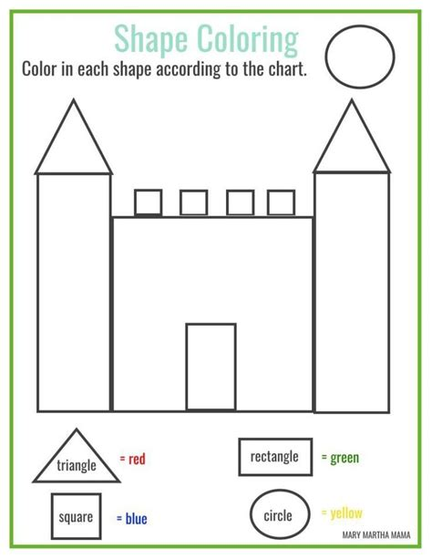 free printable shape coloring printable homeschool 696 | 2096ff17e5a47298d821272db9576a8d