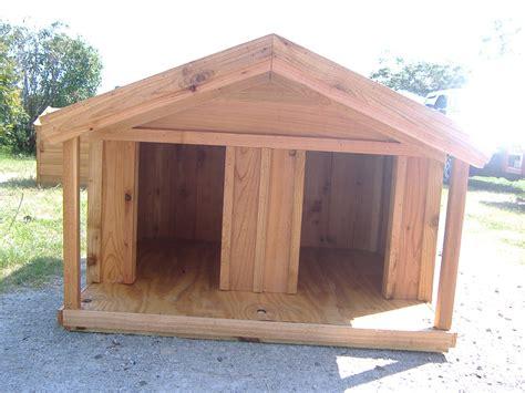 custom ac heated insulated dog house custom cedar dog house  porch