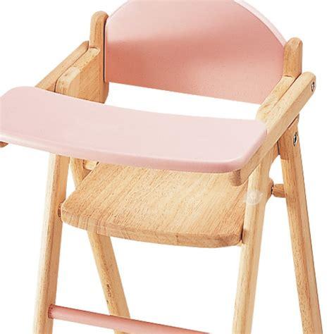 chaise haute pour poupée jouets des bois chaise haute en bois pour poupée pintoy jouets des bois