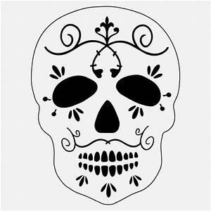 8, U0026quot, Sugar, Skull, Stencil, Scroll, Stencils, Teeth, Tooth, Template, Art, Craft, Paint, New