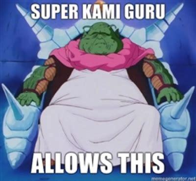 Dbz Abridged Memes - super kami guru on tumblr