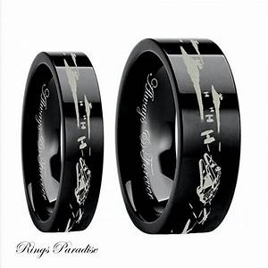 Star wars couples wedding bands star wars wedding ring for Star wars mens wedding ring