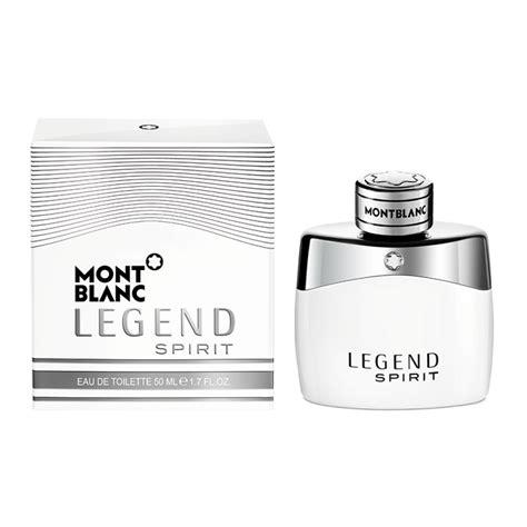 montblanc legend spirit eau de toilette 50ml feelunique