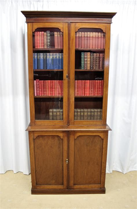 Bookcase Sale by Mahogany Bookcase Cupboard For Sale Antiques
