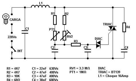 Light Dimmer Circuit