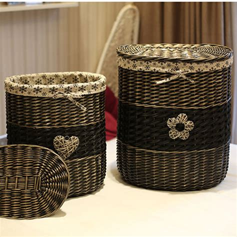 large storage basket with lid large wicker storage baskets with lids promotion shop for promotional large wicker storage