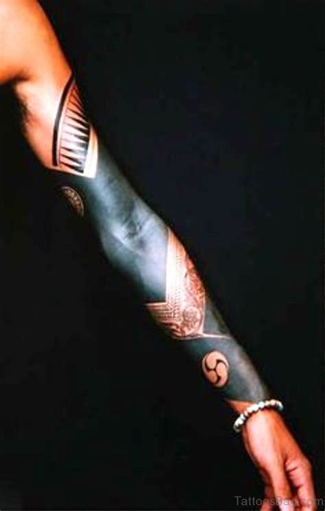 superb  black tattoos  arm