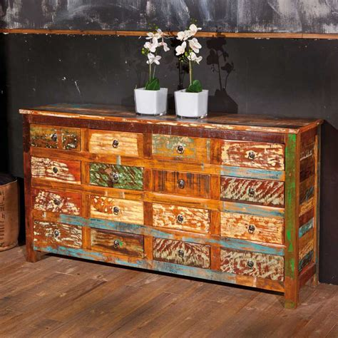 Aufregend Sideboard Bunt Design by Highboard Bunt Im Shabby Chic Vintage Sideboard Aus