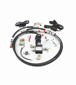 Hydraulic Winch 34 Hseries Adapter Kit