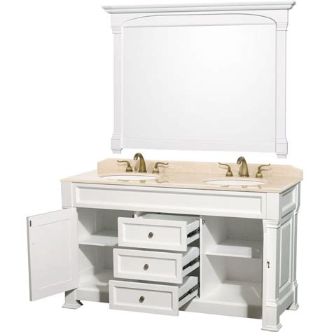 wyndham collection andover 60 inch w double vanity in