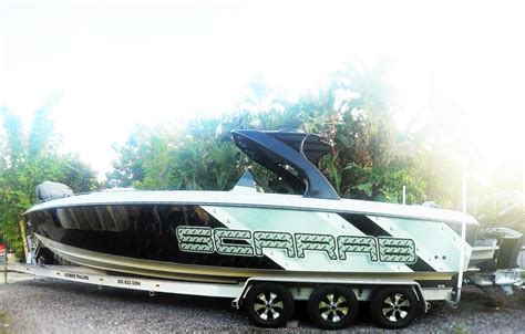Scarab Boats Pictures by 1989 Used Scarab Wellcraft Center Console Fishing Boat For