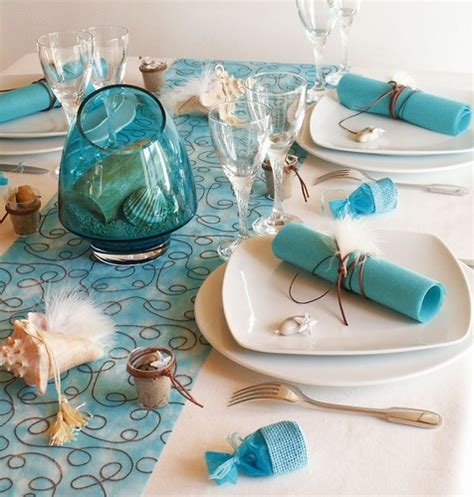 coastal themed decor sea inspired table setting and ideas for your themed