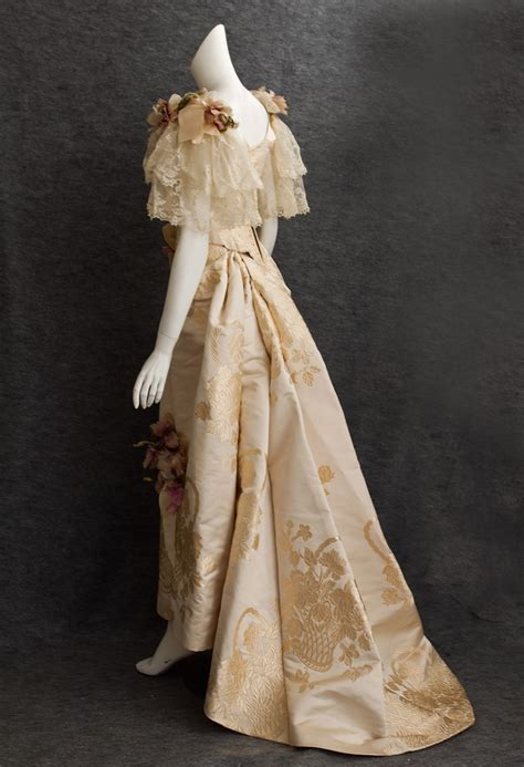 victorian clothing  vintage textile   ball gown