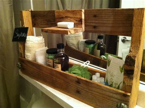 Pallet Soap and Toiletry Caddy   Pallet Furniture Plans