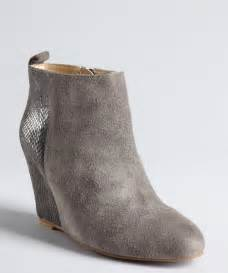 low heel silver wedding shoes grey suede ankle boots womens gommap