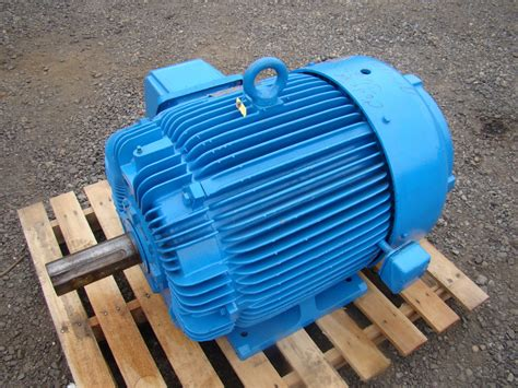 Westinghouse Electric Motor by Westinghouse Max E2 125hp Electric Motor 460v Aehh Uw004