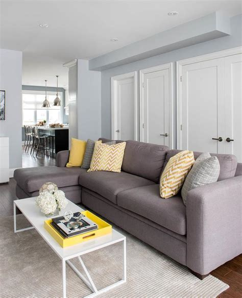 Yellow Grey Living Room Images by Gray Yellow White Living Room