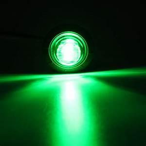 Lights  U0026 Indicators  24v Green Mini Round Led