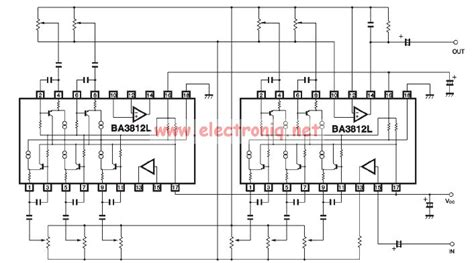 Bal Graphic Equalizer Circuit Diagram