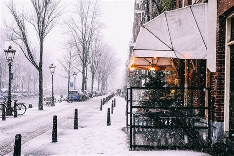 Just Like A Fairytale Amsterdam Under The Snow
