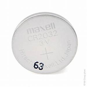 Pile Bouton Cr2032 : pile bouton lithium dioxyde de manganese la tension est ~ Melissatoandfro.com Idées de Décoration