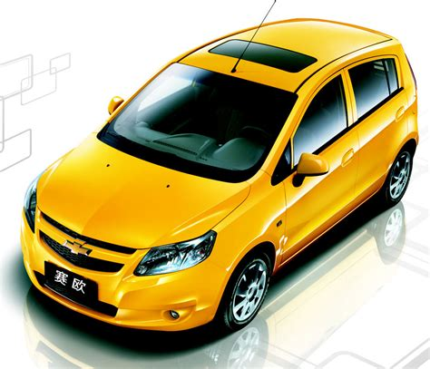 2010 Chevrolet New Sail Hatchback Introduced In Beijing