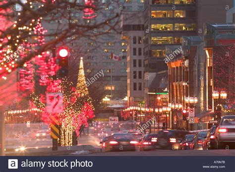 canada quebec montreal avenue mcgill college with