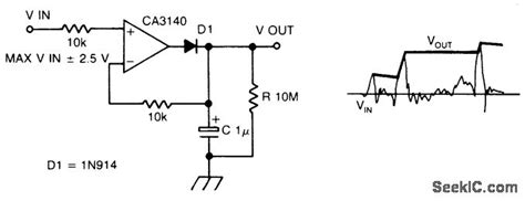 Precision Peak Voltage Detector With Long Memory Time