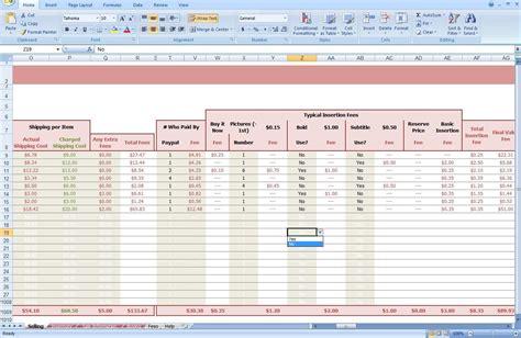 free ebay inventory spreadsheet template free ebay inventory spreadsheet buff