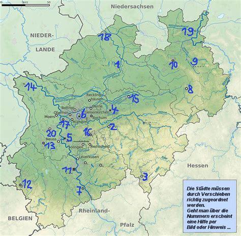 deutsche staedte nordrhein westfalen