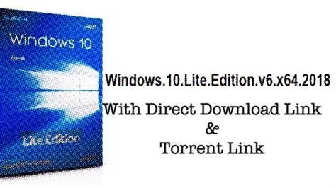 windows 10 lite v6 x64 2018