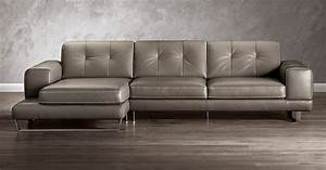 Natuzzi editions b636 sectional leather sectional for Leather sectional sofa new york