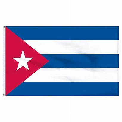 Cuba Flag Polyester Wallpapers 5ft 3ft Printed