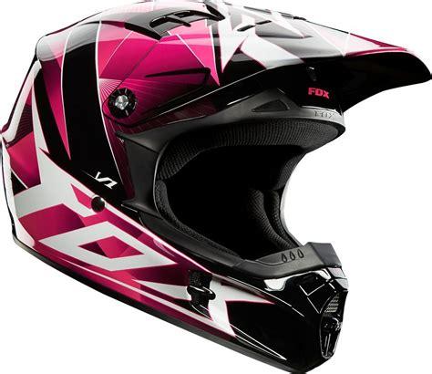 pink motocross helmet 109 95 fox racing girls v1 radeon helmet 195018