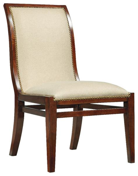 boulevard upholstered dining side chair traditional