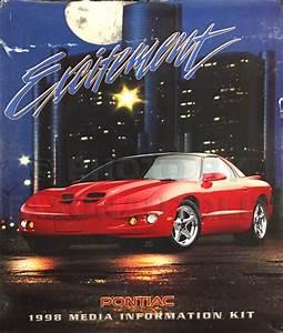 1998 Pontiac Grand Prix Repair Shop Manual Original 4