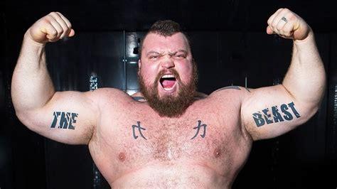 eddie hall  worlds strongest man manman