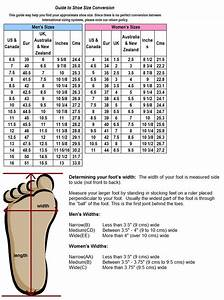 How To Determine Foot Width Size  With Images