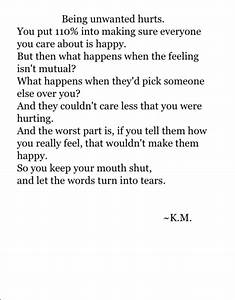 feeling unwanted on Tumblr