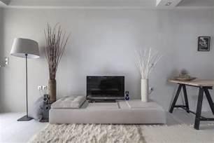 peinture gris perle et meubles blanc cass 233 en d 233 co mini studio