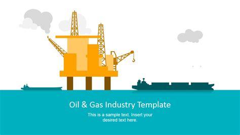 cover  template  oil rig platform slidemodel