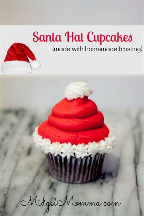 ideas  santa cupcakes  pinterest