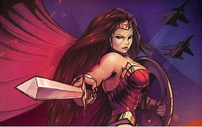 Wonder Woman 4k Justice League Wallpapers Superhero