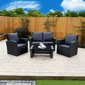Rattan Lounge Set : 4 piece algarve rattan sofa set for patios conservatories and gardens its the perfect rattan ~ Orissabook.com Haus und Dekorationen