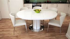 Classic, Round, Extendable, Dining, Table
